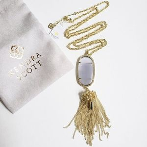 Kendra Scott Jewelry - NWT Kendra Scott Rayne Slate Cats Eye Necklace